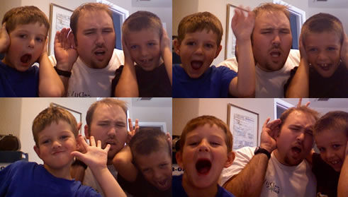 Adam and the Nephews - Times Four!