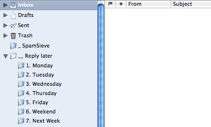 Empty inbox!