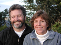 Ken Anderson and Janice Flint, founders of Crystal Springs Software