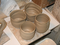 Bowls of clay