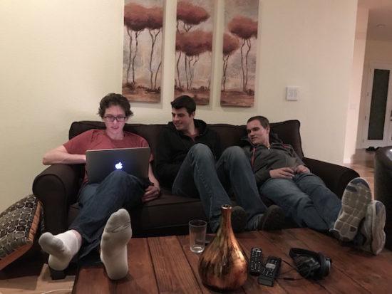 Bryan Helmig, Mike Knoop, Wade Foster (Zapier founders)